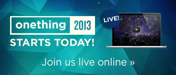 Watch The OneThing Conference for FREE