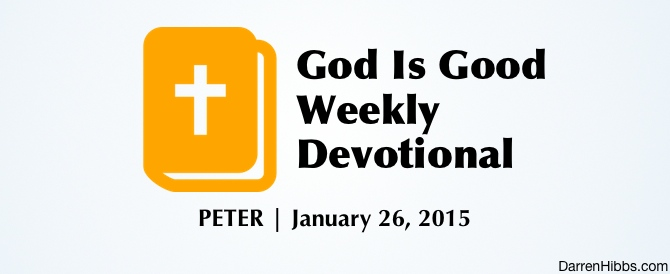 God Was Good To Peter
