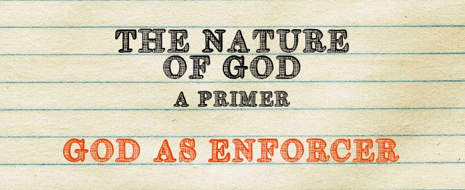 God As Enforcer