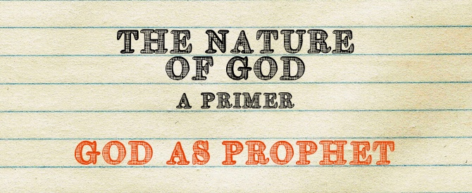 God As Prophet