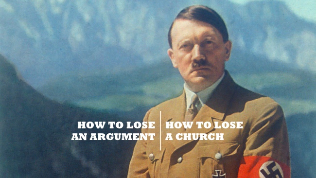 How To Lose An Argument: How To Lose A Church