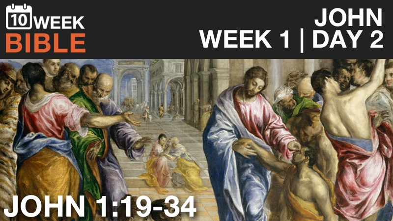 Video Study of John  |  Week 1 Day 2