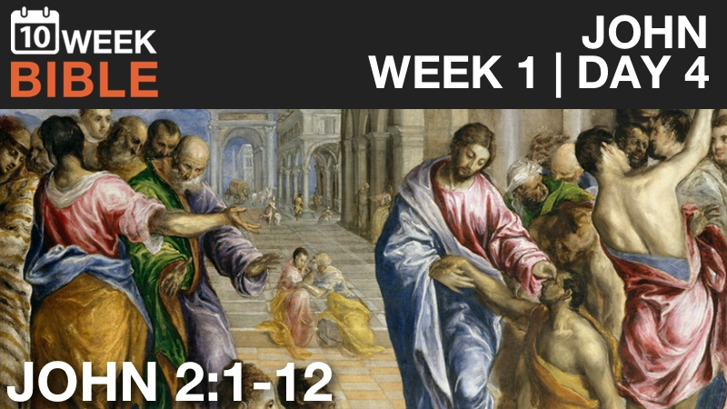 Video Study of John  |  Week 1 Day 4