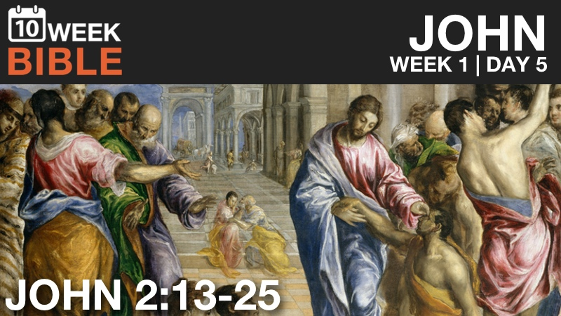 Video Study of John  |  Week 1 Day 5